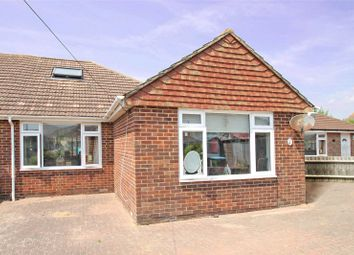 Thumbnail 4 bed bungalow for sale in Thatchway Close, Wick, Littlehampton, West Sussex