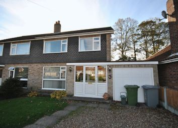 Thumbnail 3 bedroom semi-detached house to rent in Catton Chase, Old Catton, Norwich