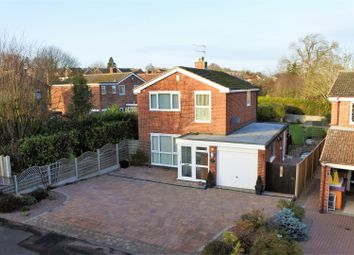 Thumbnail 3 bed detached house for sale in Reedings Close, Barrowby, Grantham
