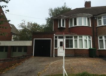 Thumbnail 3 bed semi-detached house to rent in Moat Road, Oldbury