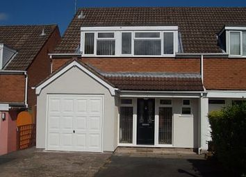 Thumbnail 4 bed semi-detached house to rent in Stoney Lane, Kidderminster