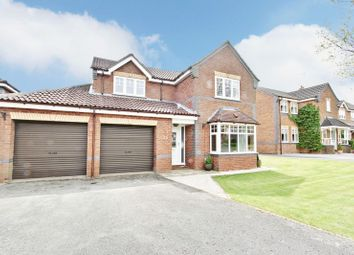 Thumbnail 4 bedroom detached house for sale in Highcroft, Cherry Burton, Beverley