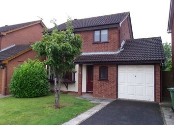 Thumbnail 3 bed detached house to rent in Heather Close, St Peters, Worcester