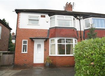 Thumbnail 3 bed semi-detached house for sale in Chester Avenue, Whitefield, Manchester