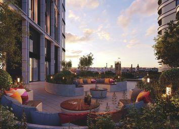 Thumbnail 1 bedroom flat for sale in Albert Embankment, London