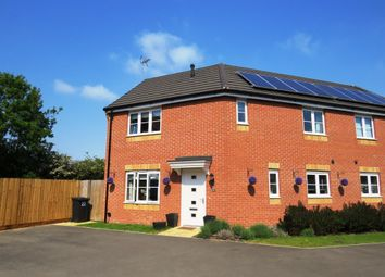 Thumbnail 3 bed semi-detached house for sale in Shipton Grove, Hempsted, Peterborough