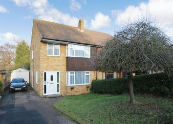 Thumbnail 3 bed semi-detached house for sale in Nurserylands, Crawley