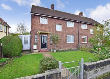 Thumbnail 3 bed semi-detached house for sale in Jubilee Crescent, Gravesend, Kent