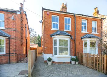 Thumbnail 2 bed semi-detached house for sale in Parkside Road, Ascot, Berkshire