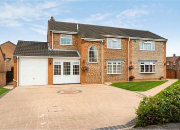 Thumbnail 4 bed detached house for sale in Colster Way, Colsterworth, Grantham