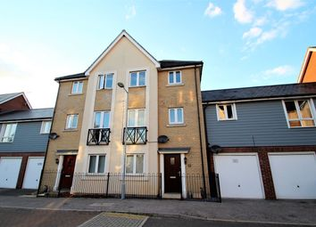 Thumbnail 4 bed town house for sale in Jovian Way, Ipswich