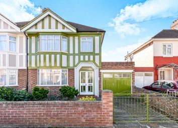 Thumbnail 3 bed semi-detached house for sale in Brackley Road, Elstow, Bedford