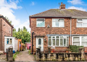 Thumbnail 5 bed semi-detached house for sale in Crescent Range, Victoria Park/ Rusholme, Manchester