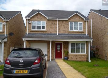 Thumbnail 4 bed detached house to rent in Castlefields, Toft Hill, Bishop Auckland