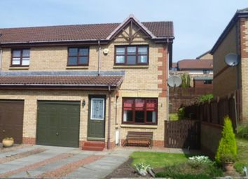 Thumbnail 3 bedroom semi-detached house to rent in Hayston Road, Cumbernauld, Glasgow