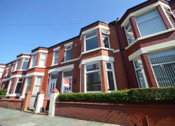 Thumbnail 3 bed terraced house to rent in Kingsley Road, Wallasey