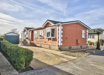 Thumbnail 3 bed mobile/park home for sale in Pine Hill Park, Wyton, Huntingdon, Cambs