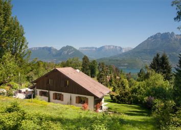 Thumbnail 5 bed detached house for sale in Lake Annecy West Side, Saint-Jorioz, Seynod, Annecy, Haute-Savoie, Rhône-Alpes, France