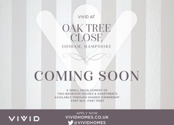 Thumbnail 2 bed terraced house for sale in Oak Tree Close, Farnham Road, Odiham