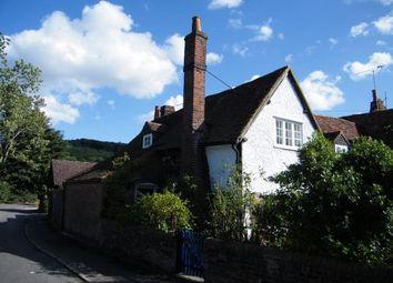 Thumbnail 2 bed semi-detached house to rent in Bisham Village, Bisham, Marlow, Berkshire