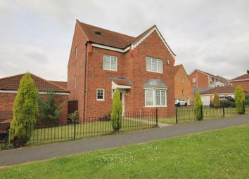 Thumbnail 5 bed detached house for sale in Leafield Close, Birtley, Chester Le Street
