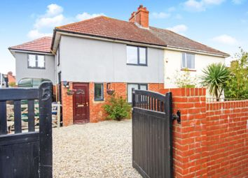 Thumbnail 4 bed semi-detached house for sale in Forstal Road, Woolage Village, Canterbury