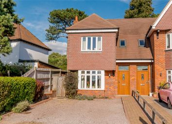 Thumbnail 4 bed semi-detached house for sale in Bowers Way, Harpenden, Hertfordshire