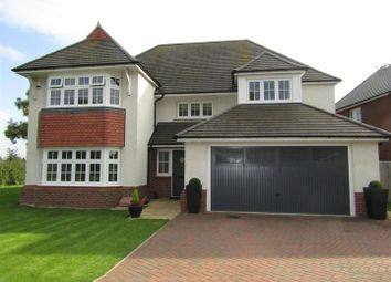 Thumbnail 4 bed detached house for sale in Queens Close, Countesthorpe, Leicester