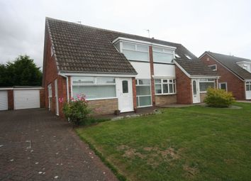 Thumbnail 3 bed semi-detached house for sale in Earlsdon Avenue, Acklam, Middlesbrough