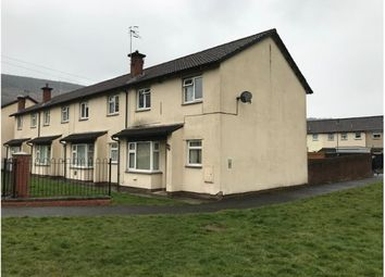 Thumbnail 2 bed end terrace house for sale in Pant-Y-Cerdin, Aberdare, Mid Glamorgan