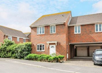 Thumbnail 3 bed link-detached house for sale in Mere Close, Bracklesham Bay, Chichester