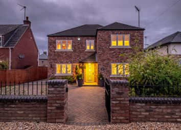 Thumbnail 4 bed detached house for sale in Wales Bank, Elm, Wisbech, Cambridgeshire