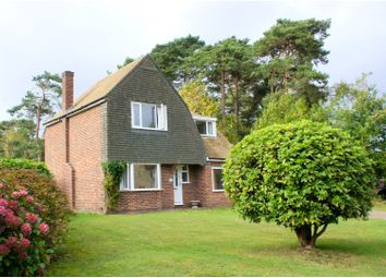 Thumbnail 3 bed detached house for sale in Ridgeway Close, Lightwater