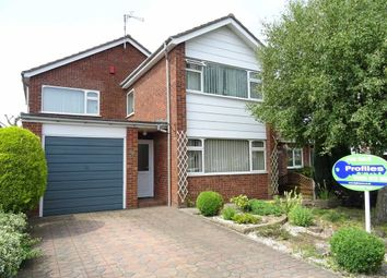 Thumbnail 4 bedroom detached house for sale in Laneside Drive, Hinckley