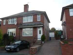 Thumbnail 3 bed semi-detached house to rent in Laverdene Road, Totley Rise, Sheffield