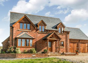 Thumbnail 4 bed detached house for sale in Wellow Wood Road, West Wellow, Romsey