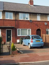 Thumbnail 3 bed terraced house to rent in Holystone Crescent, High Heaton, Newcastle Upon Tyne