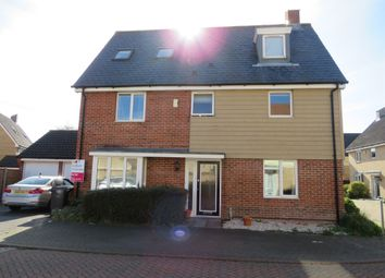 Thumbnail 5 bed town house for sale in Linnet Road, Costessey, Norwich