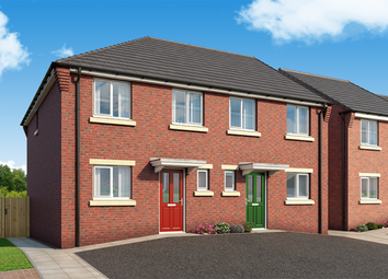 "Thumbnail 3 bed property for sale in ""The Clarendon At Derwent Heights"" at Derwent Heights, Dunston"