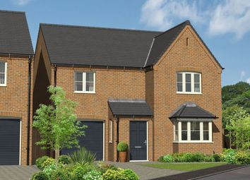 Thumbnail 4 bed detached house for sale in Repton Road, Willington, Derby