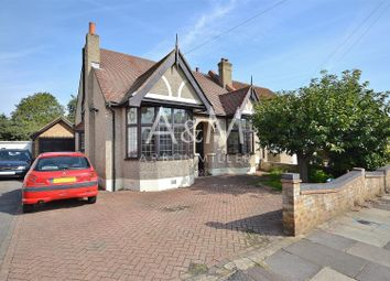 Thumbnail 3 bed semi-detached bungalow for sale in Trenance Gardens, Ilford