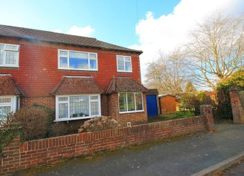 Thumbnail 3 bed semi-detached house for sale in Elsley Close, Frimley Green, Camberley