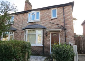 Thumbnail 3 bed semi-detached house to rent in Heyscroft Road, Withington, Manchester