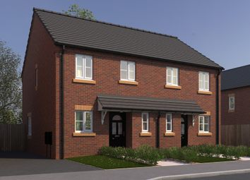 Thumbnail 3 bed town house for sale in Wentworth Road, Kirkby-In-Ashfield, Nottingham