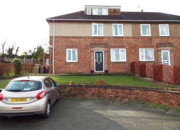 Thumbnail 4 bed semi-detached house for sale in Southfield Close, Whitwell, Worksop