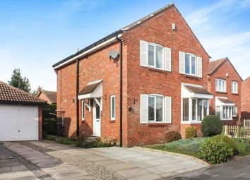 Thumbnail 4 bedroom detached house for sale in Middlecroft Drive, Strensall, York