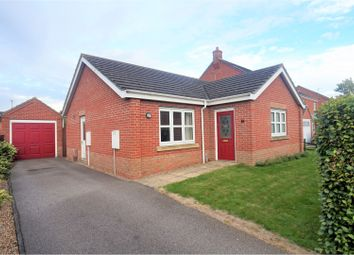 Thumbnail 2 bed detached bungalow for sale in Aisne Close, Lincoln