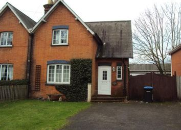 Thumbnail 4 bed semi-detached house to rent in Vicarage Road, Egham