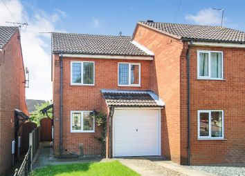 Thumbnail 3 bed semi-detached house to rent in Morleyfields Close, Ripley