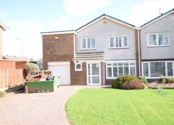 Thumbnail 4 bed semi-detached house for sale in The Highway, Croesyceiliog, Cwmbran